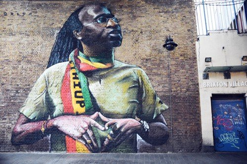 Brixton mural - JimmyC - Brixton Music and Street Art Tour | Unexpected London