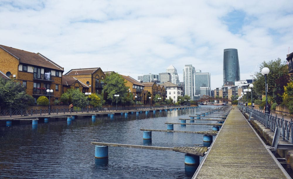 Docks in Canary Wharf to Greenwich walk | Unexpected London
