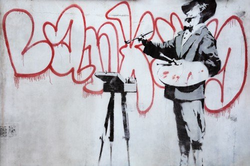 Banksy graffiti - The alternative Notting Hill Experience | Unexpected London