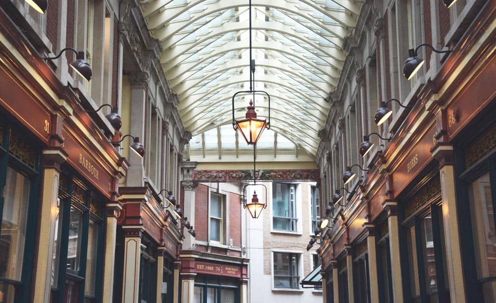 Leadenhall Market - Harry Potter location - Secrets of the City | Unexpected London