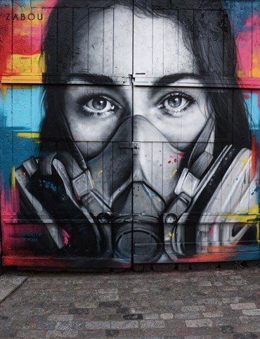 Zabou Street Artist London - Shoreditch Street Art and Music Tour | Unexpected London