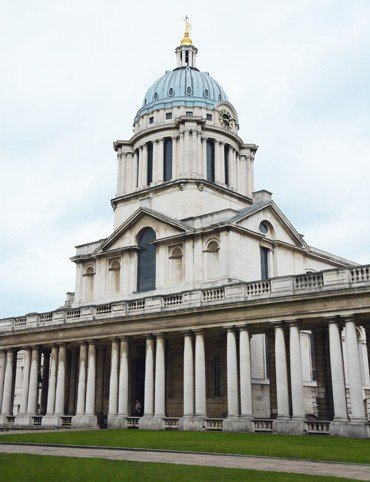Royal Naval College Greenwich Chapel - Canary Wharf to Greenwich Tour   Unexpected London