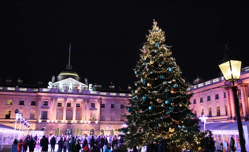 Somerset House ice rink - Christmas Tour | Unexpected London